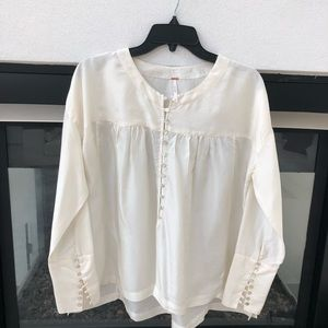 🤍FREE PEOPLE BLOUSE